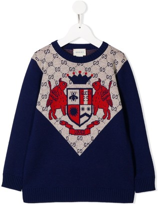 Gucci Kids Logo Sweater