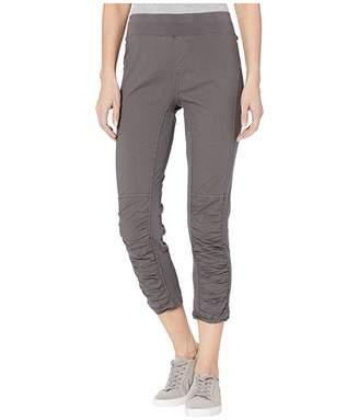 XCVI Jetter Crop in Stretch Poplin (Basalt Pigment) Women's Casual Pants