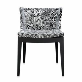Kartell Mademoiselle Chair Leg Color: Black, Upholstery Color: Cartagena in Black & White