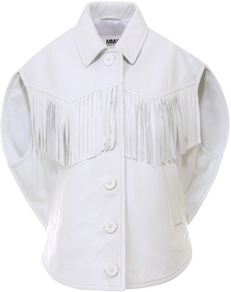 MM6 MAISON MARGIELA Fringed Jacket