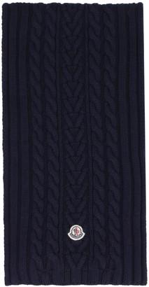 Moncler Tricot Knit Scarf