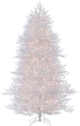 Pottery Barn Pre-Lit Flocked White Twig Artificial Christmas Tree