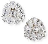 N-M Jewelry Shop Pear-Shaped Diamond Cluster Earrings