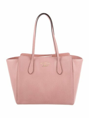 Gucci Small Swing Tote Pink