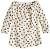 J.Crew Girls' flower top