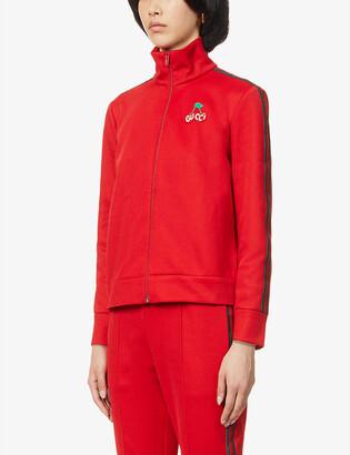 Gucci Track cotton-blend jacket