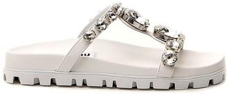 Miu Miu Slip On Sandals