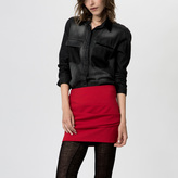 Maje Miniskirt with pleat