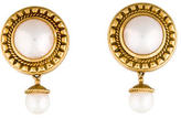 Penny Preville 18K Pearl Drop Earrings