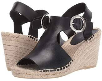 Via Spiga Nolan (Black Boston Leather) Women's Shoes
