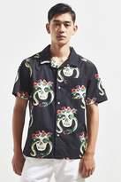 Stussy Skull Short Sleeve Button-Down Shirt