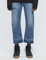 Marcelo Burlon County of Milan Leo Skater Fit Jeans