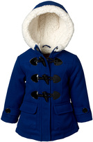 Pink Platinum Royal Blue Toggle Jacket - Infant, Toddler & Girls