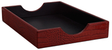Graphic Image Textured Letter Tray