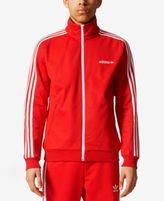 adidas Men's Beckenbauer 3-Stripe Track Jacket