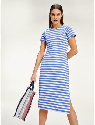 Tommy Hilfiger Stripe Midi Dress