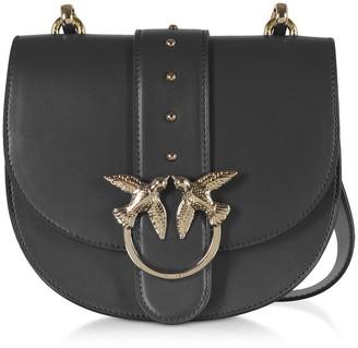 Pinko Black Go Round Classic Simply Shoulder Bag