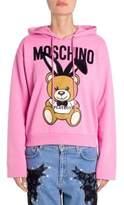 Moschino Cotton Playboy Bear Hoodie