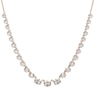 Jade Trau Vanguard Diamond Riviera Necklace