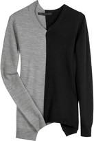 Twinsie color block sweater