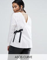 Asos Shirt with V Back & Front