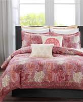 Echo Florentina Pink Twin Duvet Set