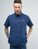 Edwin Pocket Bowling Shirt Short Sleeve