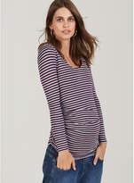 Isabella Oliver Arlington Striped Maternity Top