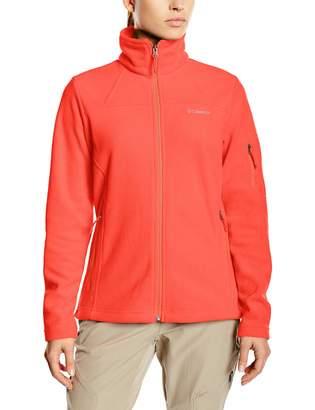 Columbia Women's Fast Trek II Fleece Jacket Soft Fleece