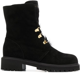 Giuseppe Zanotti Chunky Heel Boots