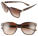 Versace 57mm Retro Sunglasses