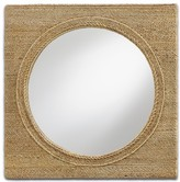 The Well Appointed House Rope Wall Mirror - ON BACKORDER - CALL FOR AVAILABILITY