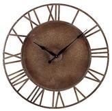 Lazy Susan 31.5 in. Parity Bronze Wall Clock