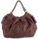 Thomas Wylde Cross Embellished Shoulder Bag