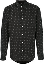 Kenzo Eyes slim-fit shirt - men - Cotton/Spandex/Elastane - 39