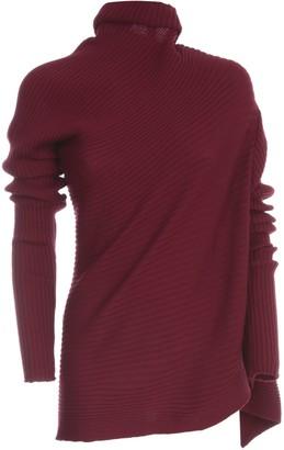 Marques Almeida Asymmetric Knitted Jumper