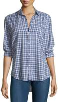 Frank And Eileen Eileen Button-Down Plaid Cotton Shirt