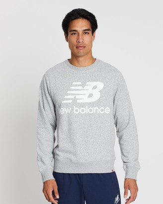New Balance Essentials Stacked Logo Crew Sweater