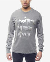 Sean John Men's Positive Vibes Metallic-Print T-Shirt, Created for Macy's