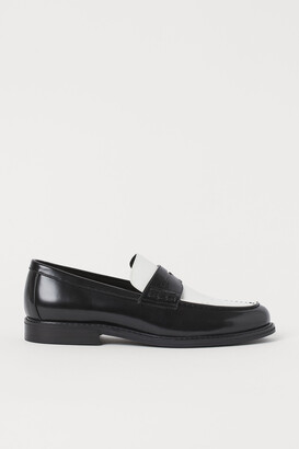 H&M Faux Leather Loafers