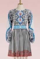 Mary Katrantzou Lucie crepe mini dress