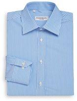 Saint Laurent Regular-Fit Bengal Stripe Cotton Dress Shirt & Gift Box