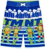 Asstd National Brand Teenage Mutant Ninja Turtles Swim Trunks - Toddler Boys 2t-5t