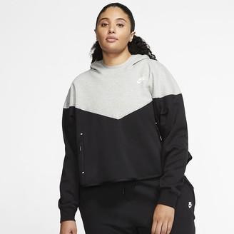 Nike Women's Pullover Hoodie (Plus Size Sportswear Tech Fleece