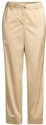 Lafayette 148 New York Dekalb Relaxed-Fit Satin Pants