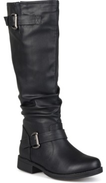 Journee Collection Women's Extra Wide Calf Stormy Boot Women's Shoes
