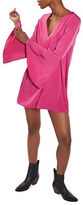 Topshop Flute-Sleeved Shift Dress
