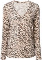 Majestic Filatures leopard print top