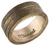 Miansai Brass Layered Band Ring Size 6 $90 New 105112