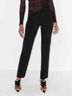 Supriya Lele Asymmetric-Waist Tailored Trousers